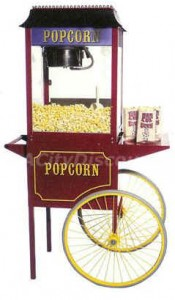 Popcorn Machine Rentals Dallas / Fort Worth Since 1998