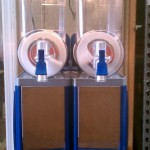 Faby Frozen Drink Machine - Margarita Machine Blue & Silver